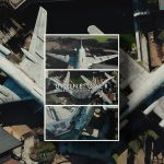DRONE OVER ABANDONED PLANES